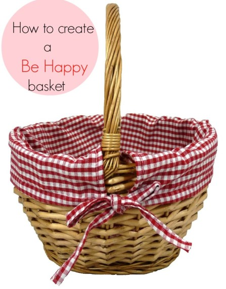 Be Happy basket