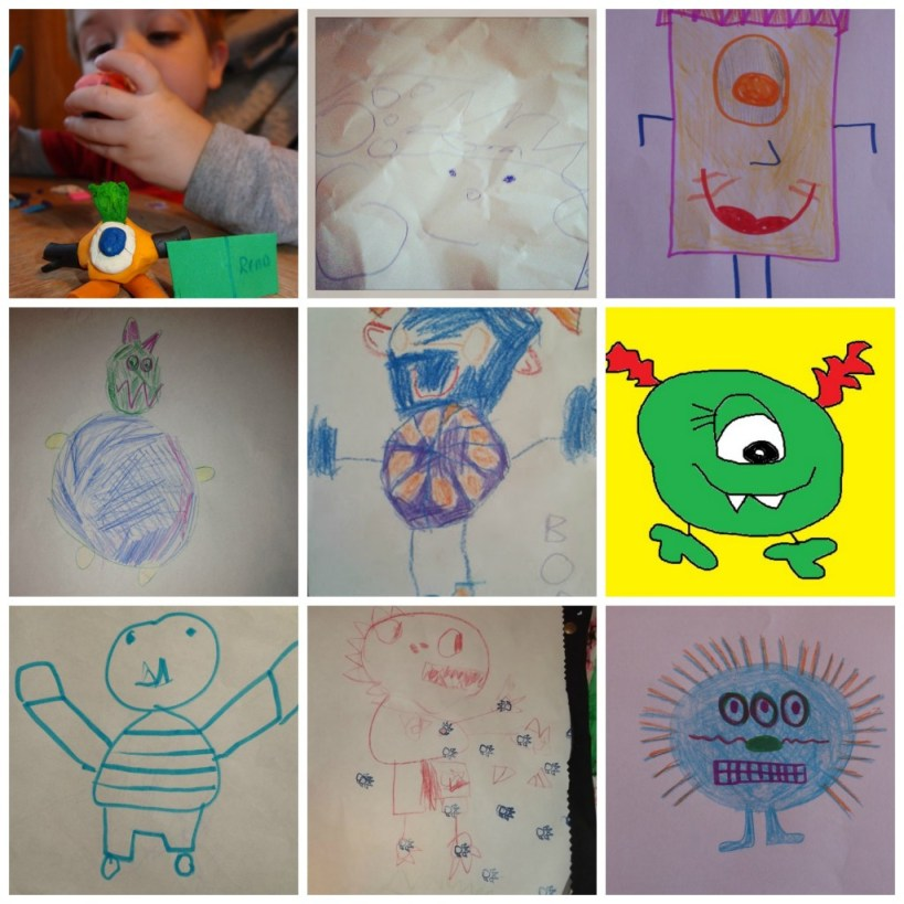 monster drawing competition