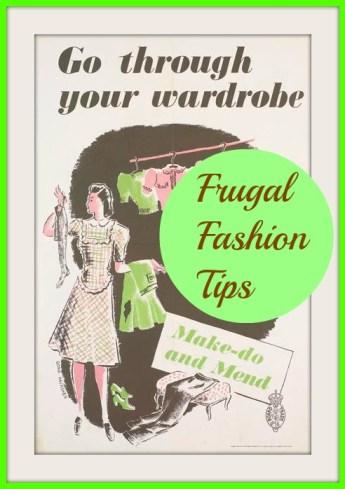 frugal fashion tips