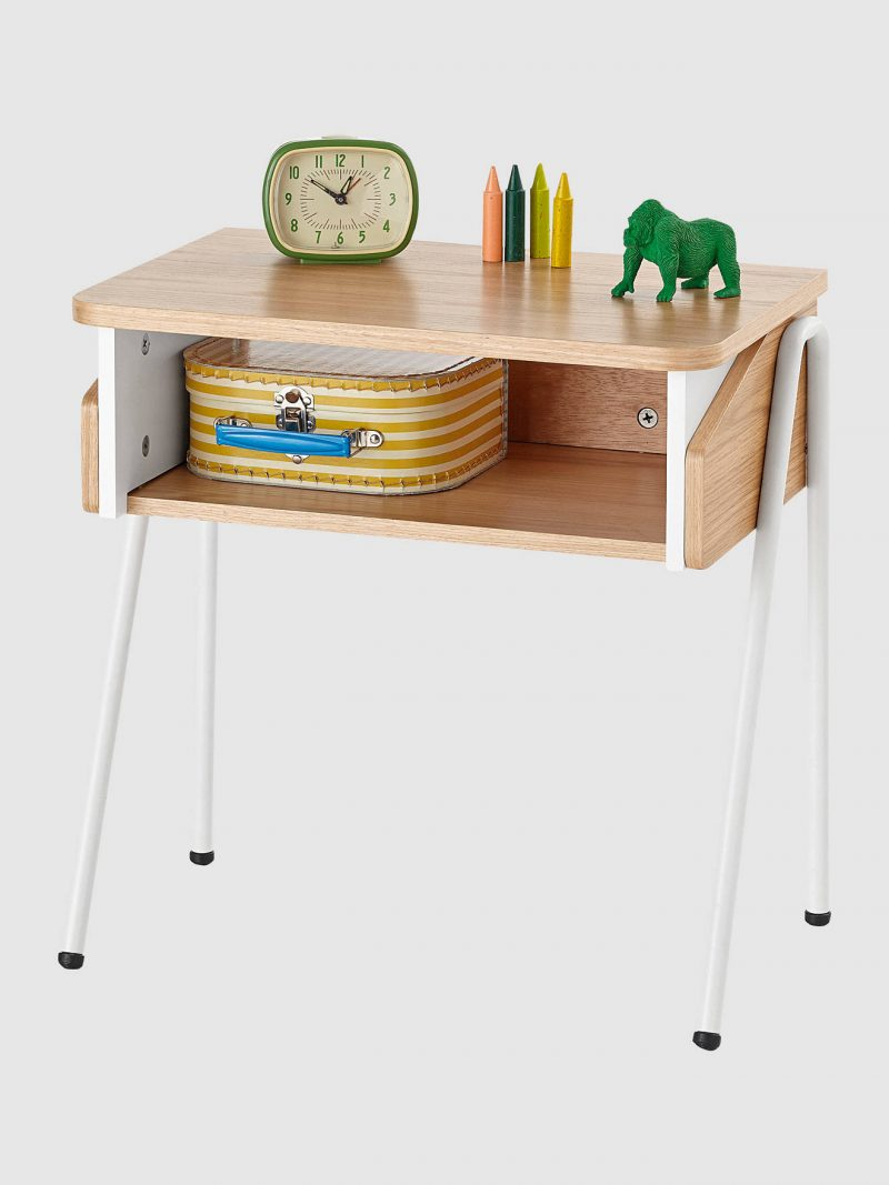 bedside table, stylish storage for kids