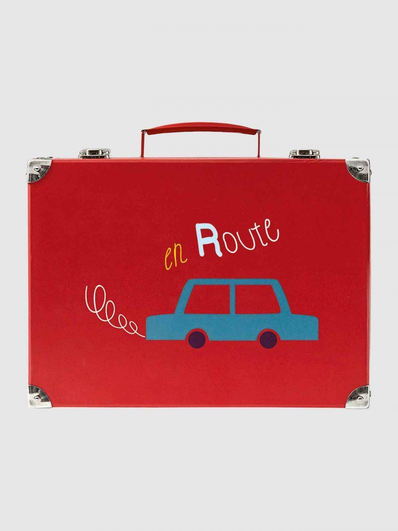 car suitcase