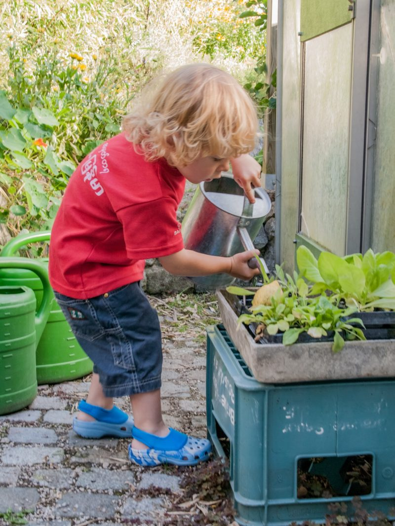 gardening and child development