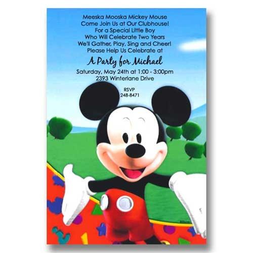 disney mickey mouse birthday