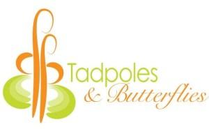 tadpoles and butterflies logo