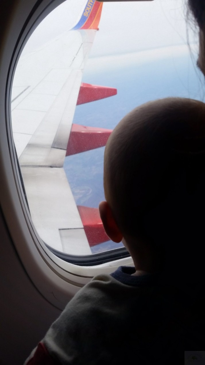 traveling with a baby by plane. baby-on-vacation-travel-babycastanonboard.com-plane