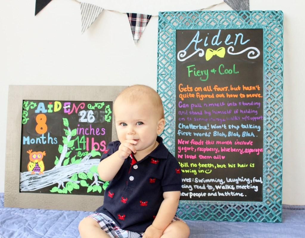 Happy Eight Months! Eight Months Baby Update