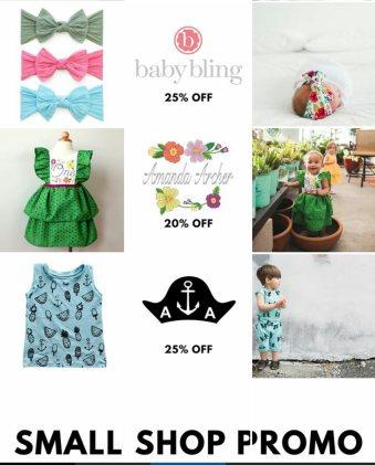Shop small promo instagram