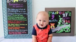 Happy Nine Months: Aiden's Nine Month Update