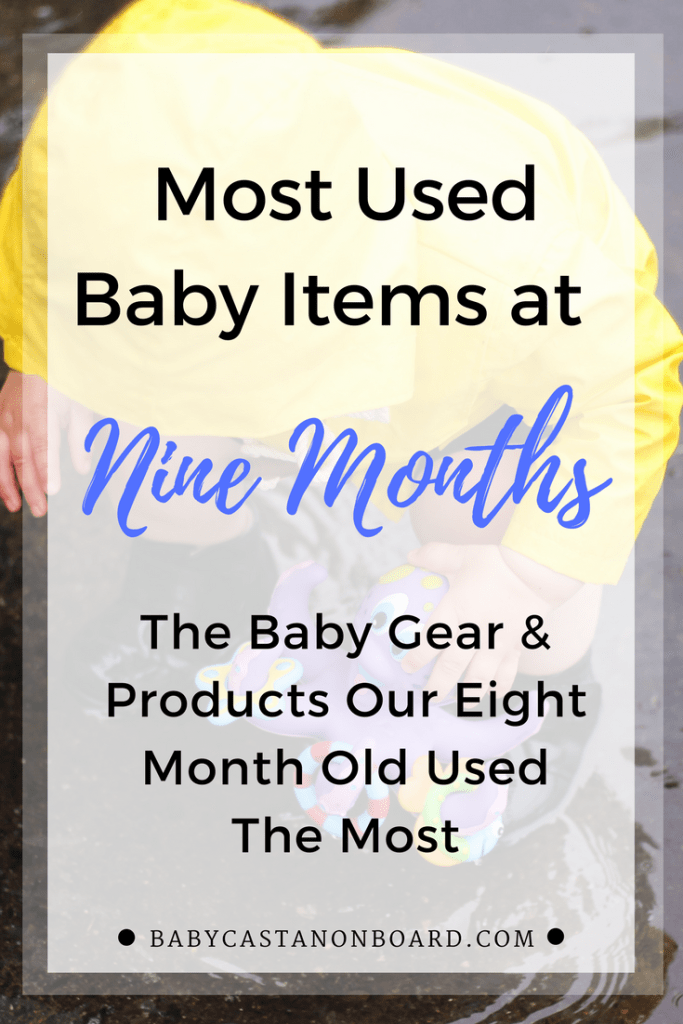 Baby Gear Nine Months Pin