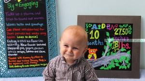 Happy Ten Months: Aiden's Ten Month Update