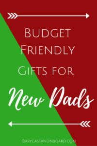 This post includes a round-up of the best gifts for new dads plus promo codes to help save some money for the budget loving mama.