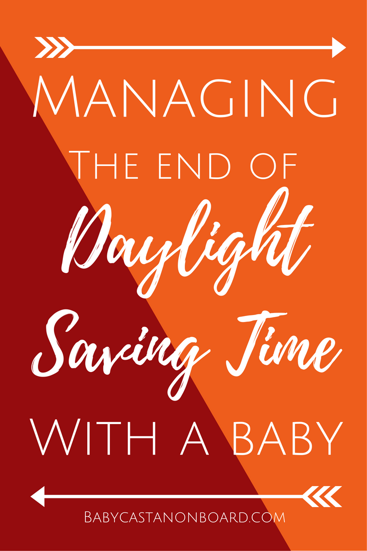 This is how we managed the end of daylight saving time with a baby. In the weeks leading up to it we pushed bedtime a bit every night.