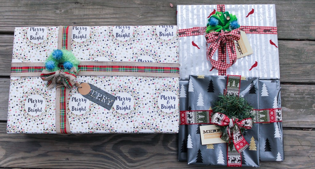 Easy DIY Gift Packaging Alternative to a Bow