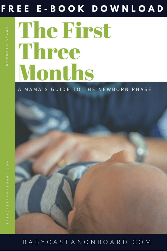 The first three months with a newborn is hard. I put together a guide for mamas all about what to expect during those first three months.