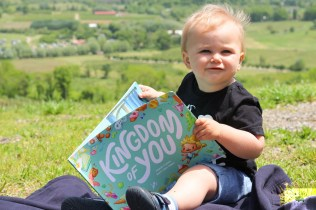 We love reading personalized kid's books to our little guy. Here is a review of the new Lost My Name personalized kid's book Kingdom of You.