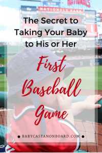 We took our baby to four baseball games last year. Here are the best tips for taking your baby to his or her first baseball game.