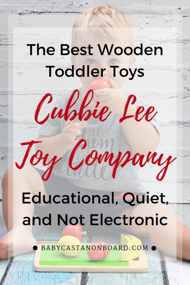 (Sponsored) Cubbie Lee Toy Company Wooden toys allow the opportunity for toddlers to use their imagination while learning important skills.