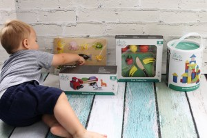 (Sponsored) Cubbie Lee Toy Company Wooden toys allow the opportunity for toddlers to use their imagination while learning important skills. - The Best Toddler Boy Gifts featured by popular DC mommy blogger, Baby Castan On Board
