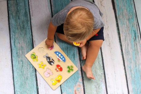 Cubbie Lee Toy Company Wooden toys allow the opportunity for toddlers to use their imagination while learning important skills.