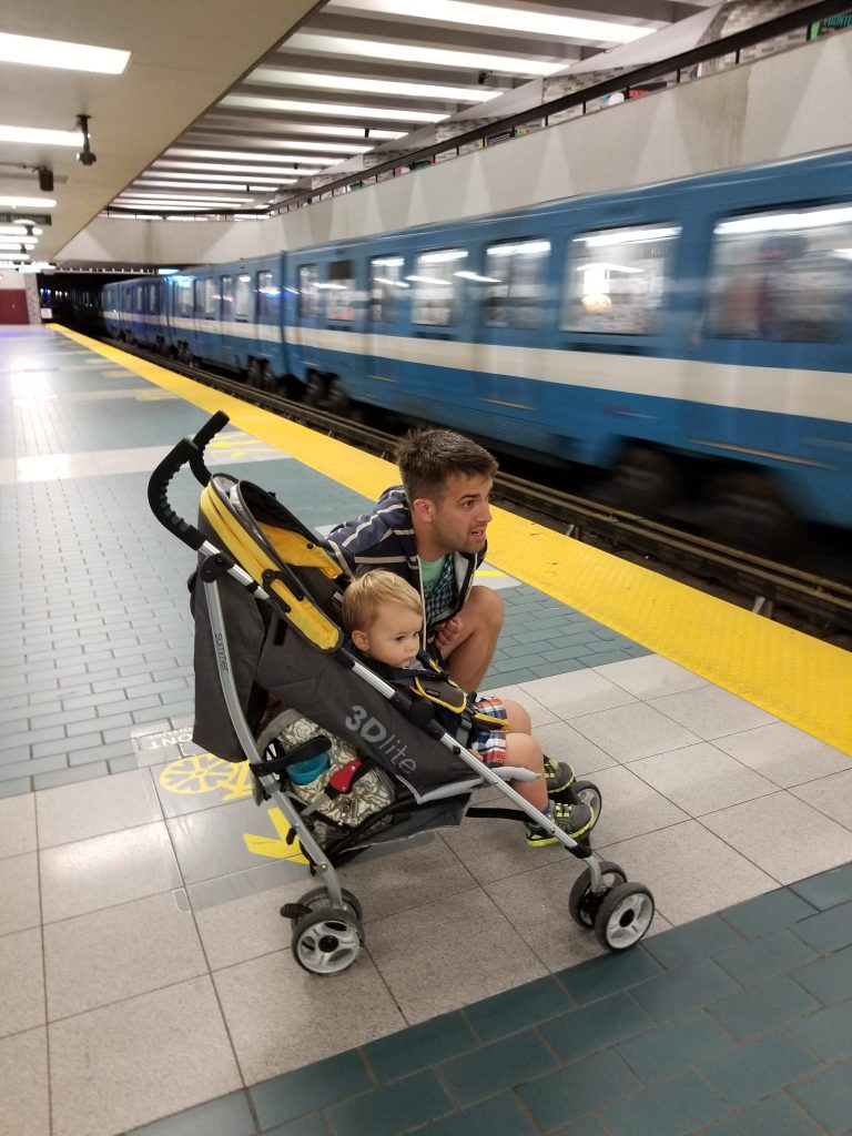 Montreal with a toddler