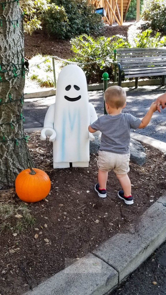 San Diego with a Toddler Legoland ghost