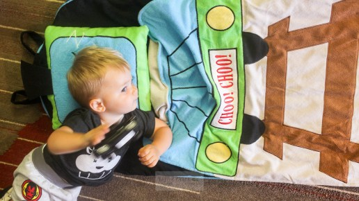 Using the SnooZieMat for Toddlers on the Go