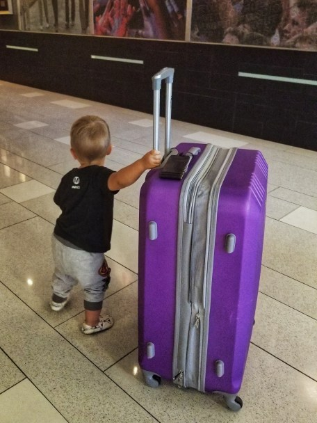 Toddlers may be small but they do require a lot of stuff. We have learned how to pack light! Here are my tips for packing a toddler's suitcase for vacation.