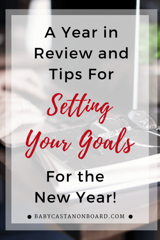 Goal setting ideas and tips for moms for the new year and beyond. #goals #momlife #getorganized #newyear