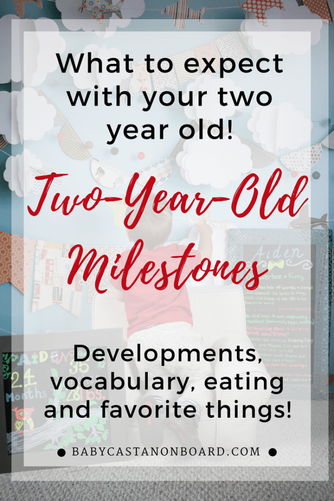 Two-Year-Old Milestones Alt Pin