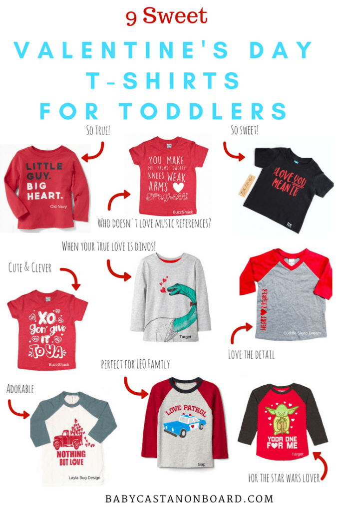 Valentine's Day T-Shirts for Toddlers