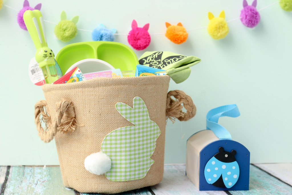 Easter Basket for Two Year Old-Popular DC Mommy Blogger Baby Castan on Board - Toddler's Easter Basket by popular DC mommy blogger Baby Castan on Board