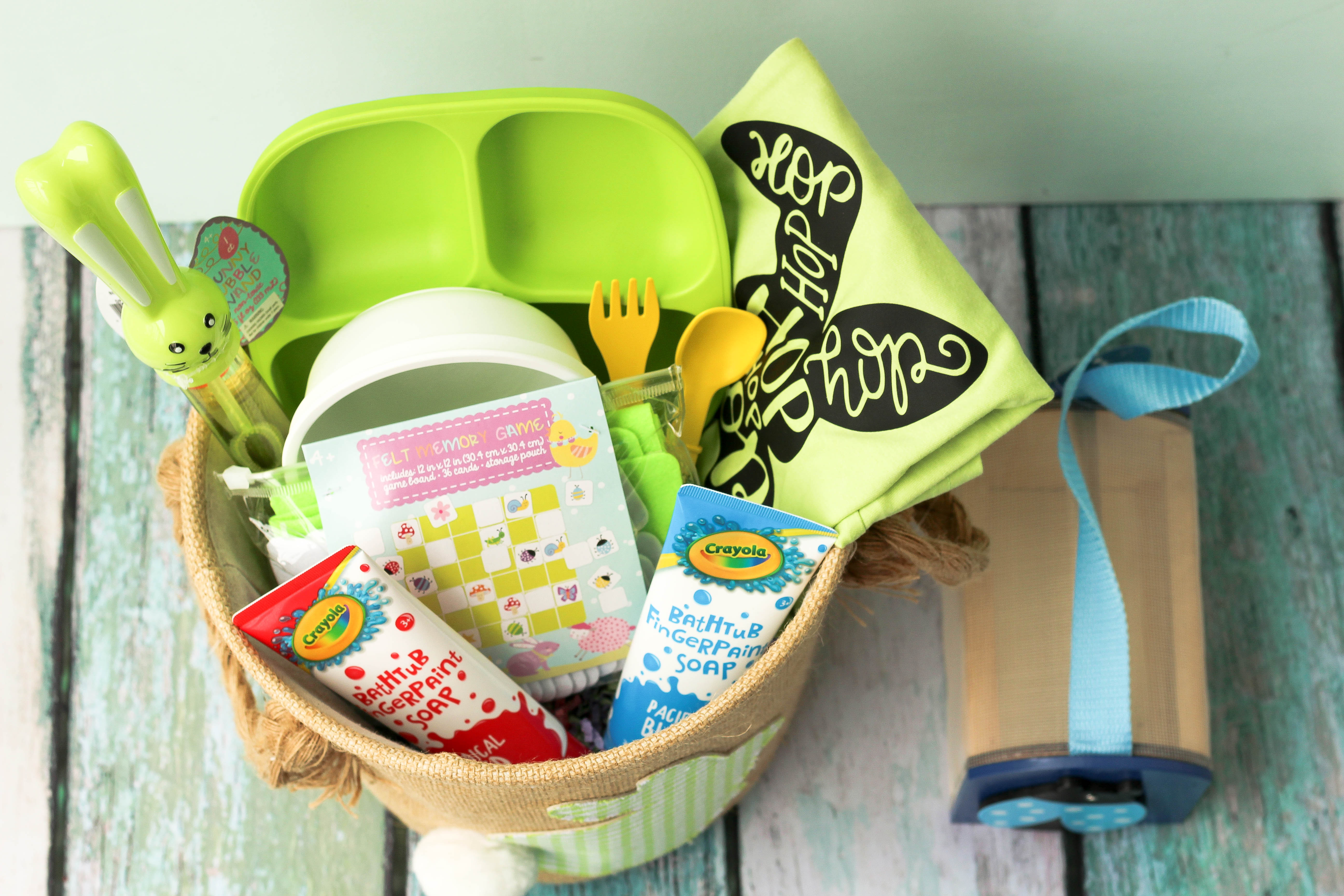 Easter basket two year old top view of full basket baby castan easter basket for two year old popular dc mommy blogger baby castan on board negle Image collections