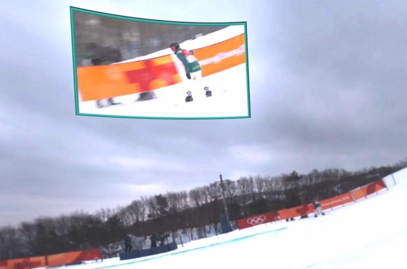 Olympics Intel True VR Snowboarding