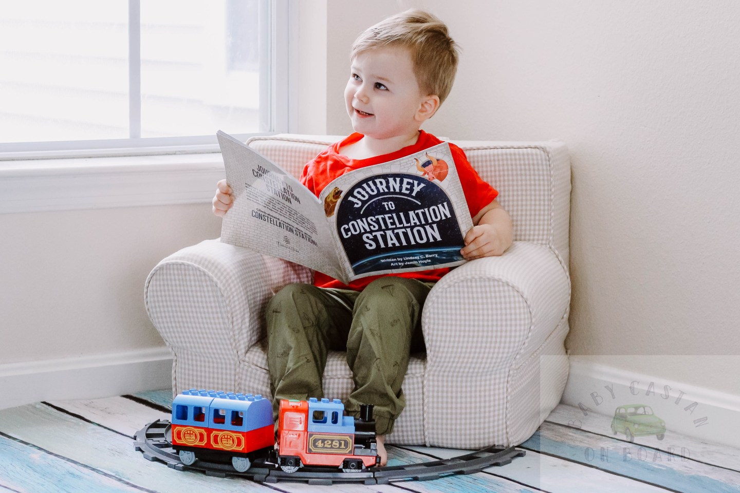 The Journey To Constellation Station Children's Book Author Interview Lindsay Barry by Popular DC Mommy Blogger Baby Castan on Board
