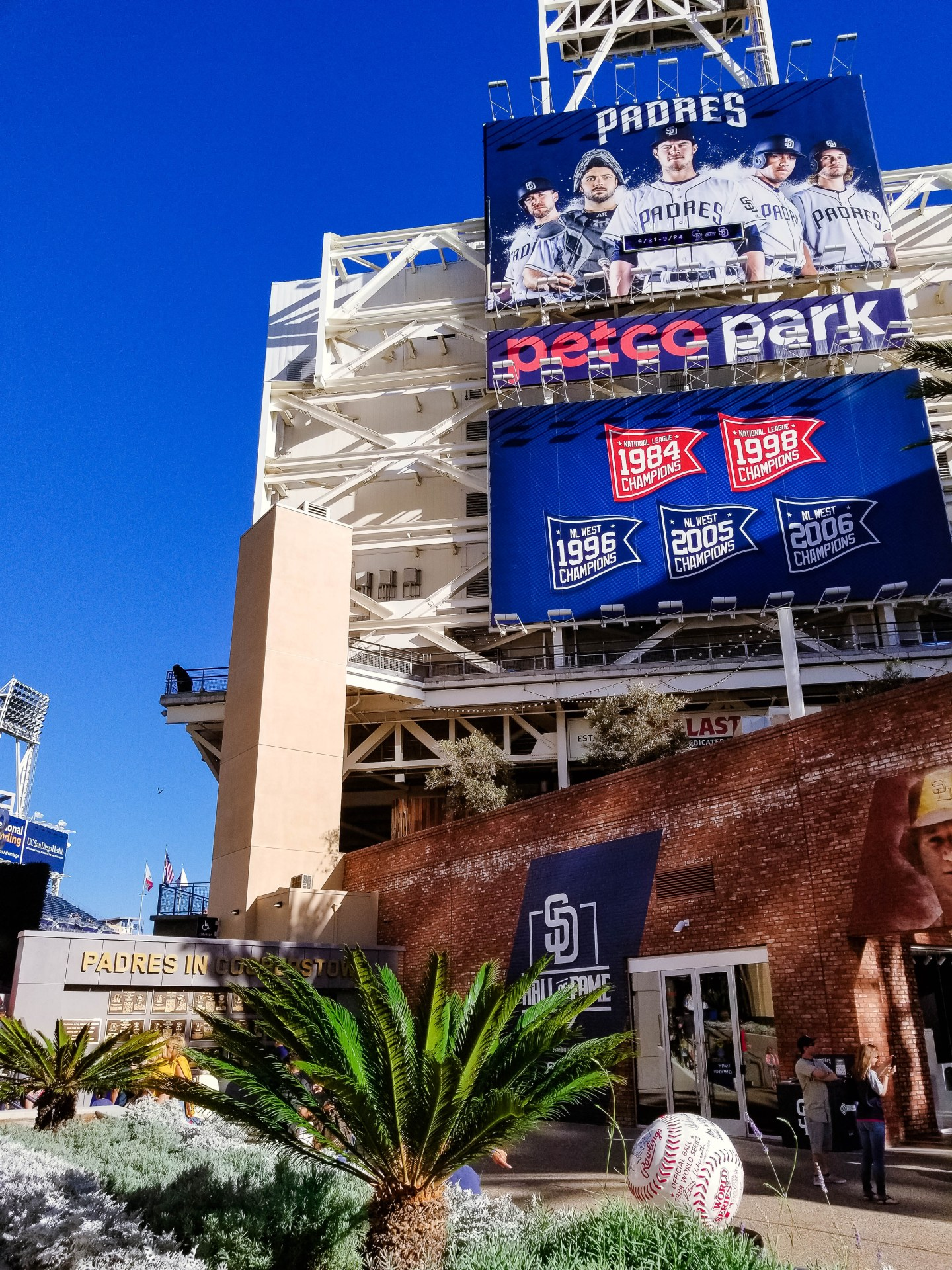 Going to a Baseball Game with Kids at Petco Park