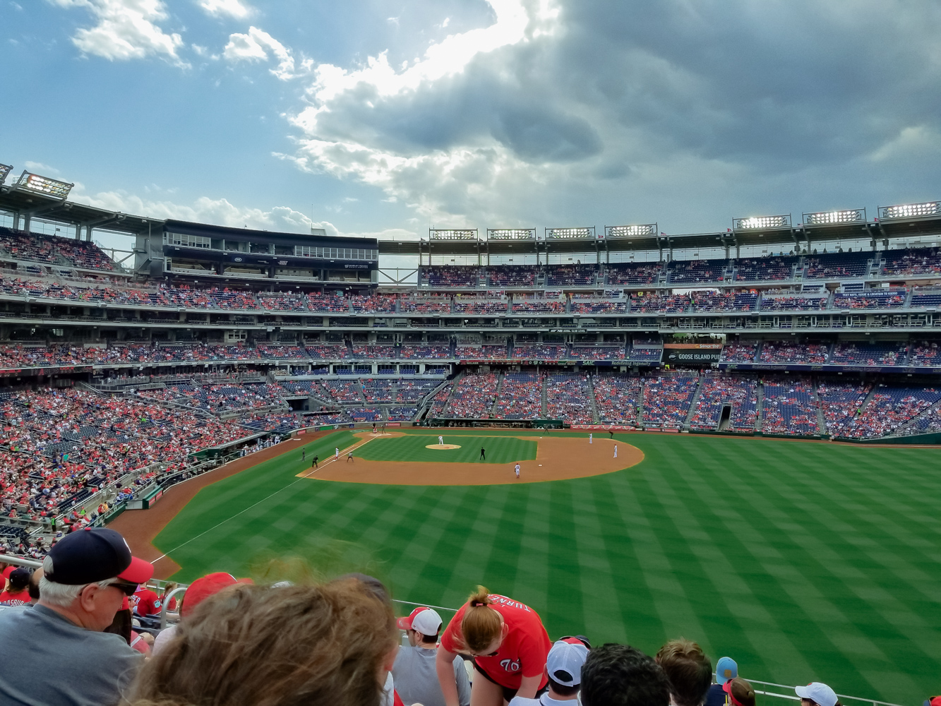 washington nationals baseball team_Stadium view from upper deck