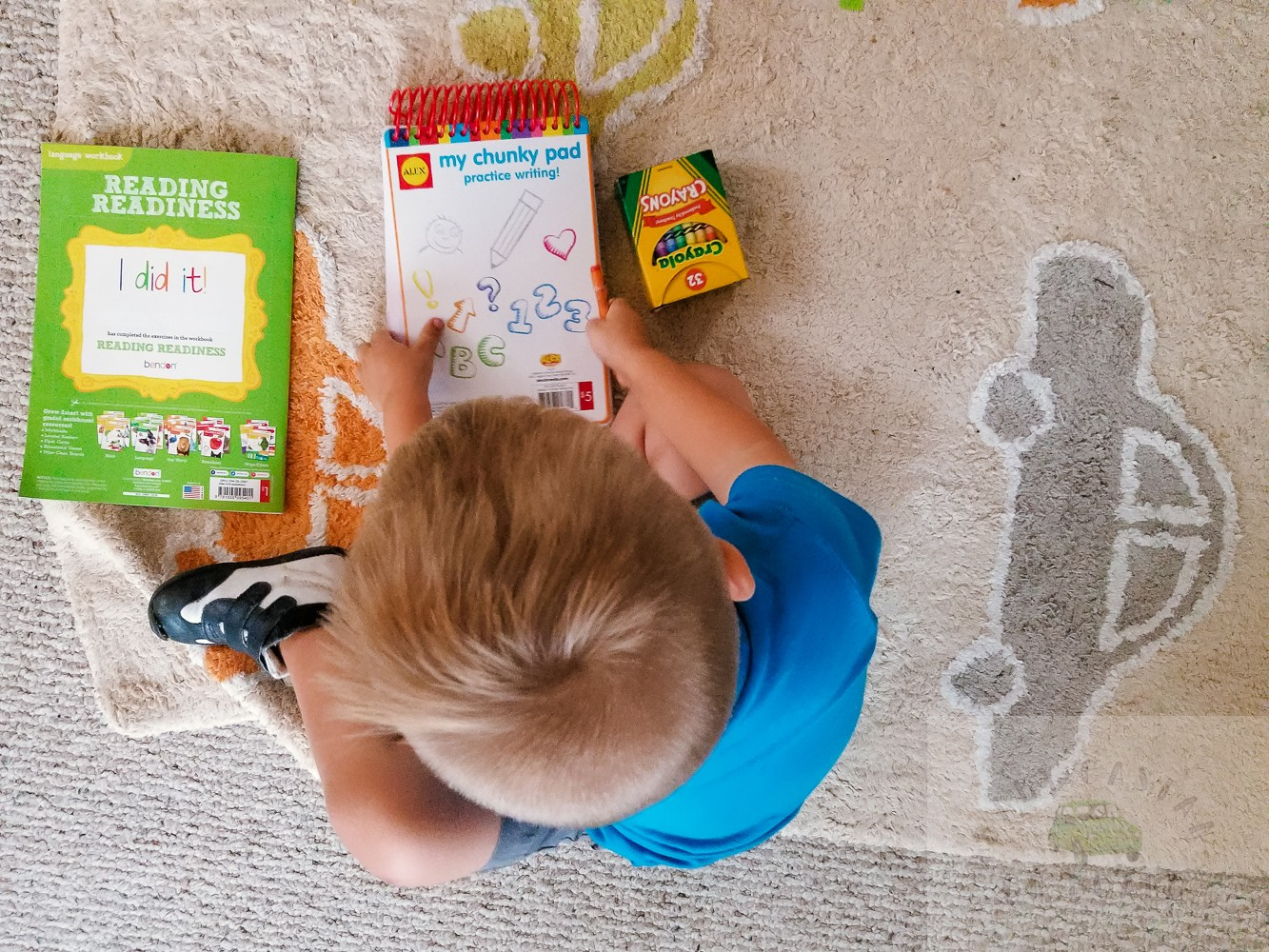 back to school shopping for toddlers featured by popular DC mommy blogger, Baby Castan on Board
