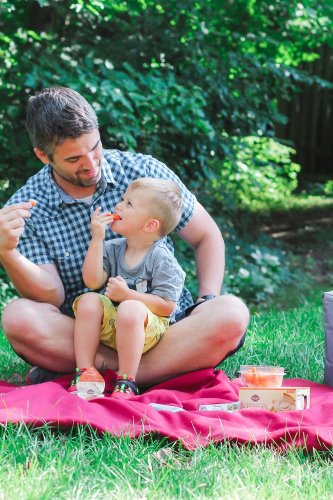 Bjs Wholesale_Toddler eating hummus