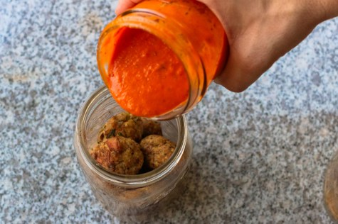 Sous vide Meatballs recipe featured by popular DC lifestyle blogger, Baby Castan on Board