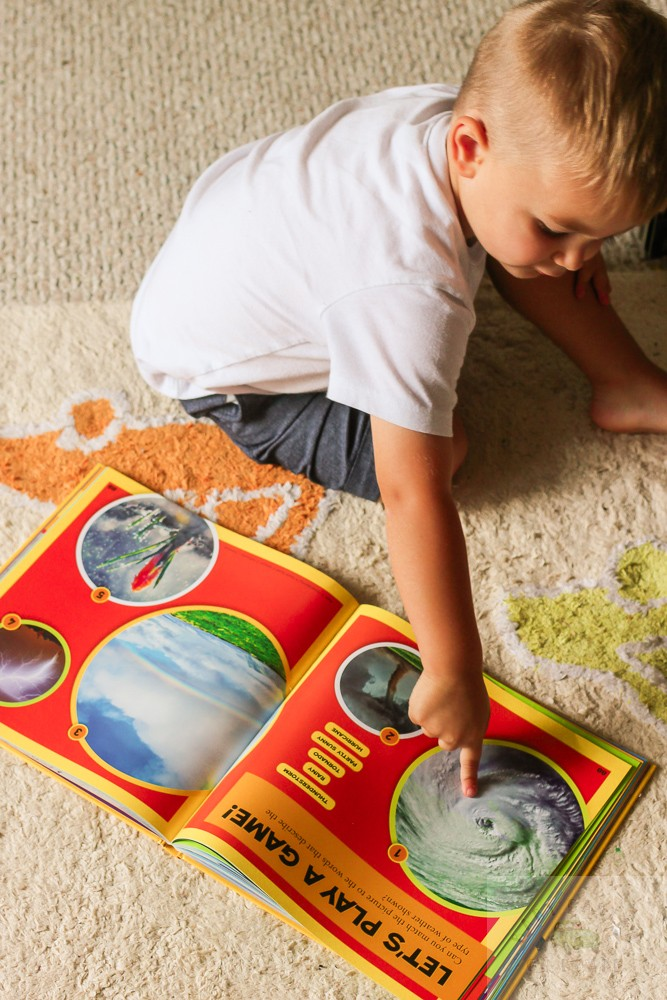 Weather Activities for Kids: 3 Fun and Easy Hurricane Inspired Activities featured by top DC mommy blog, Baby Castan on Board