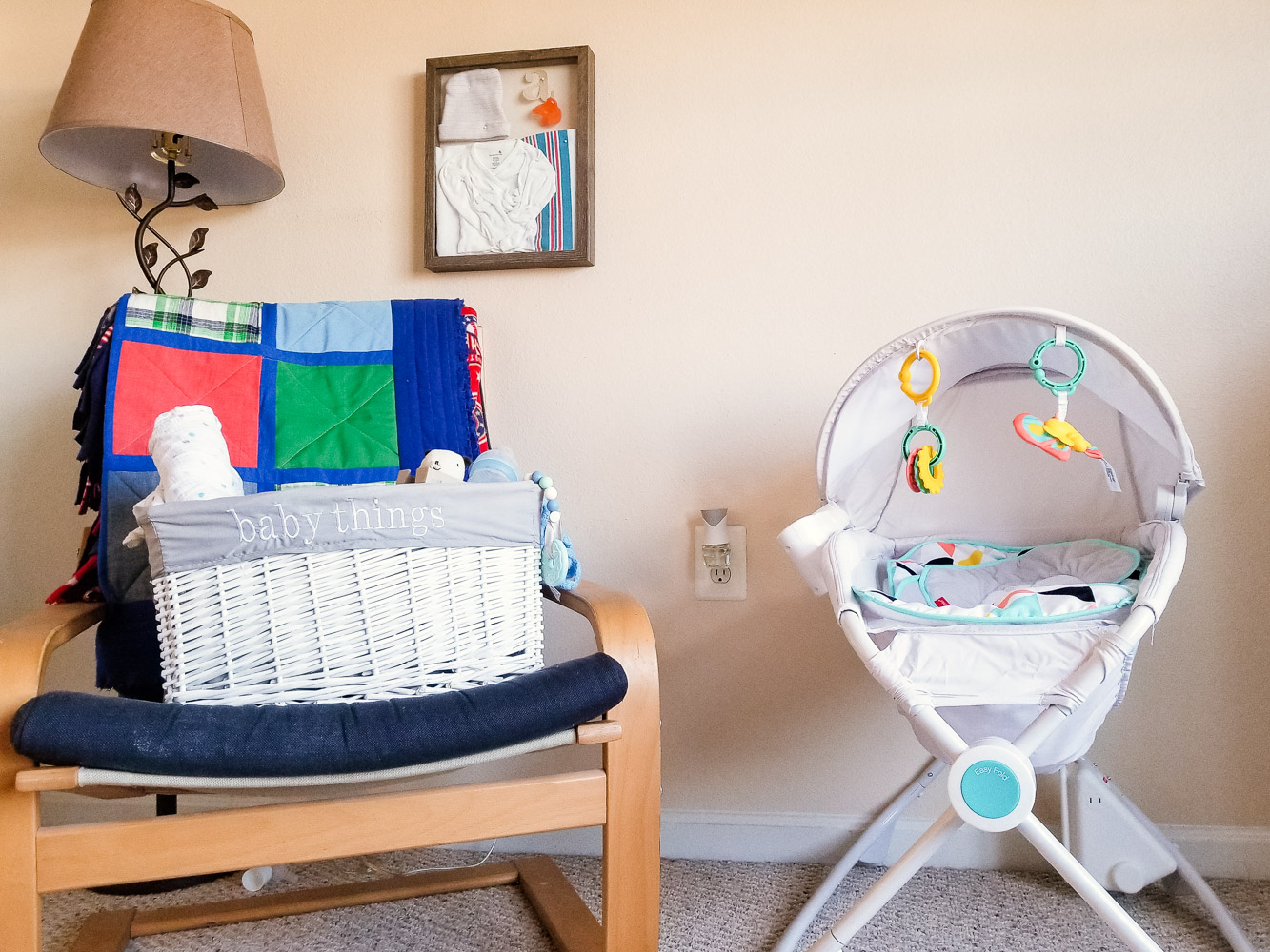 How to Create a Welcoming Space for Baby in the Master Bedroom featured by top US mommy blog, Baby Castan on Board