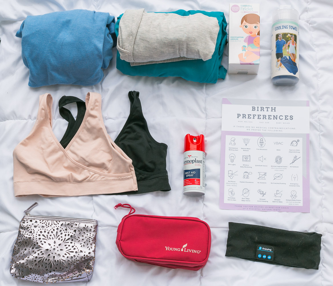 15 Hospital Bag Essentials featured by top US mom blog and expecting mom, Baby Castan on Board
