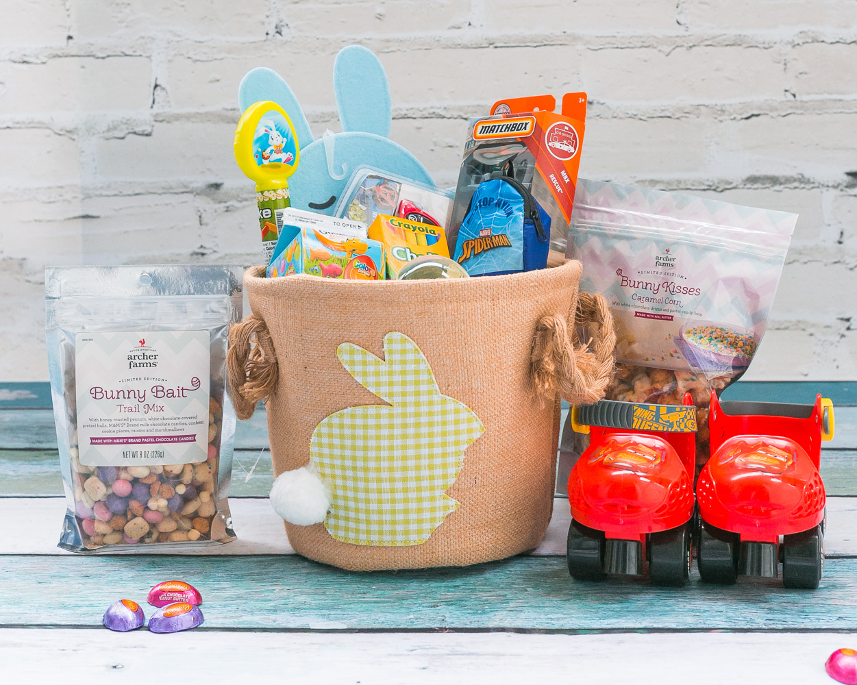 Easy Easter Basket Ideas for Toddlers featured by top US mommy blog, Baby Castan on Board
