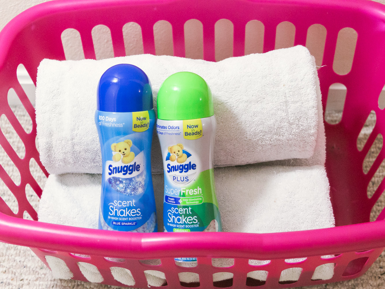 Snuggle Scent Shakes review featured by top US life and style blog, Baby Castan on Board