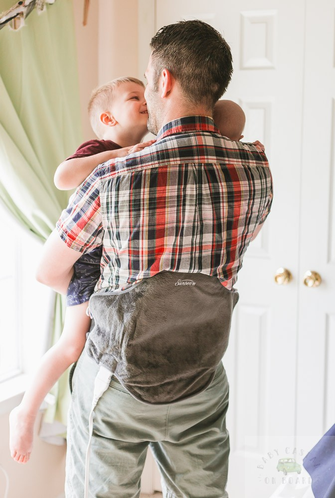Sunbeam Renue Heating Pad review featured by top US lifestyle blog, Baby Castan on Board