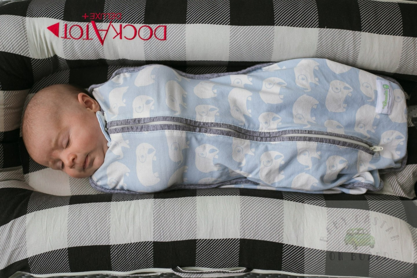 The best baby swaddles featured by top US mommy blog, Baby Castan on Board