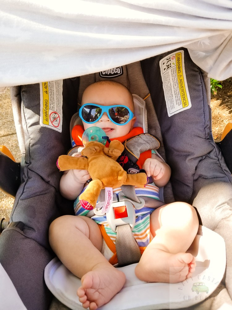How to Keep a Newborn Cool in the Heat this Summer, tips featured by top US mommy blog, Baby Castan on Board