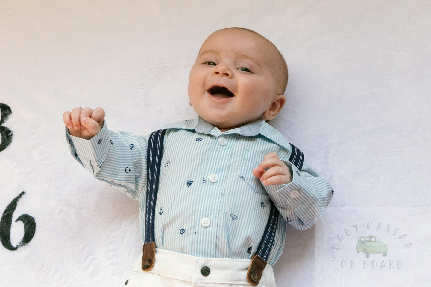 Two Month Old Baby Update featured by top US mommy blog, Baby Castan on Board