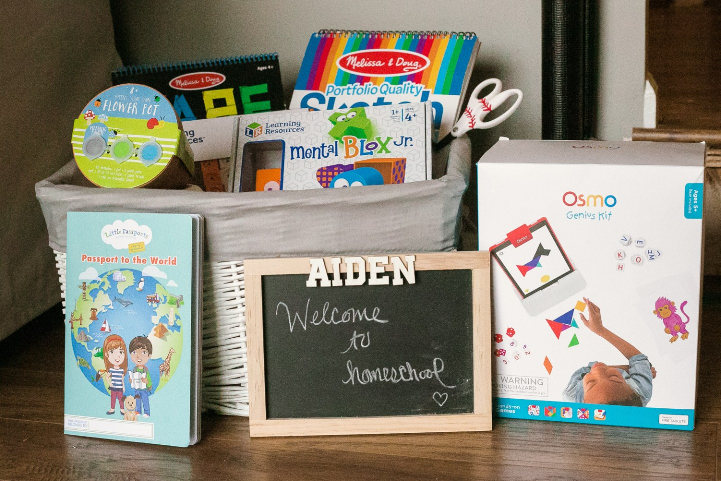 7 Essentials to Create a Kids Emergency Kit to Help Get Through Covid-19 at Home