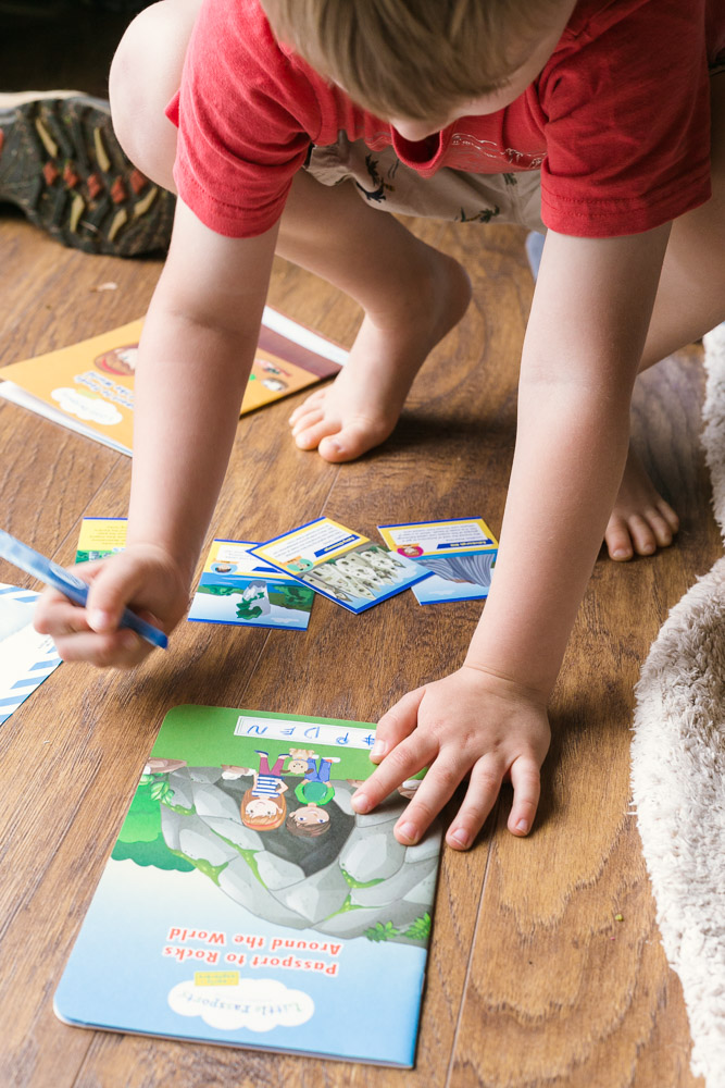 Little Passports review: The Perfect At Home Activities for Kids featured by top D.C mommy blog, Baby Castan on Board